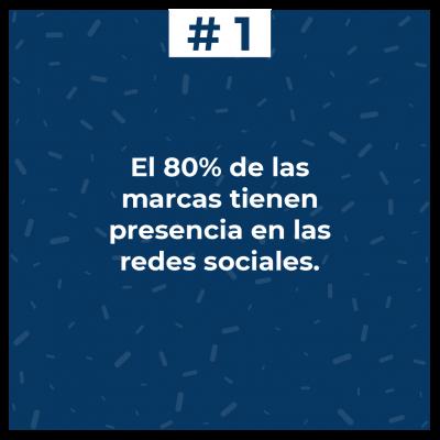 El 80% de las marcas tienen presencia en las redes sociales